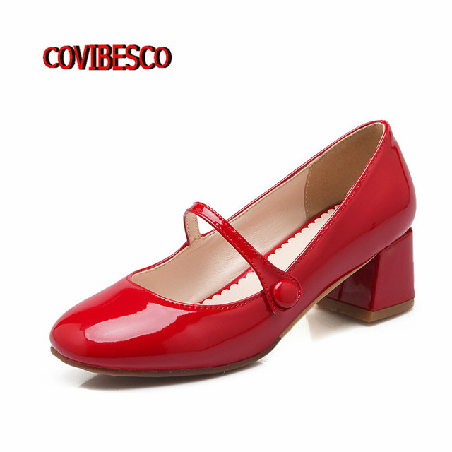 Woman Shoes Platform Comfortable Pumps Women Fashion Thick High Heels Sexy Pointed Toe Elegant Work Cute Mary Jane Shoes