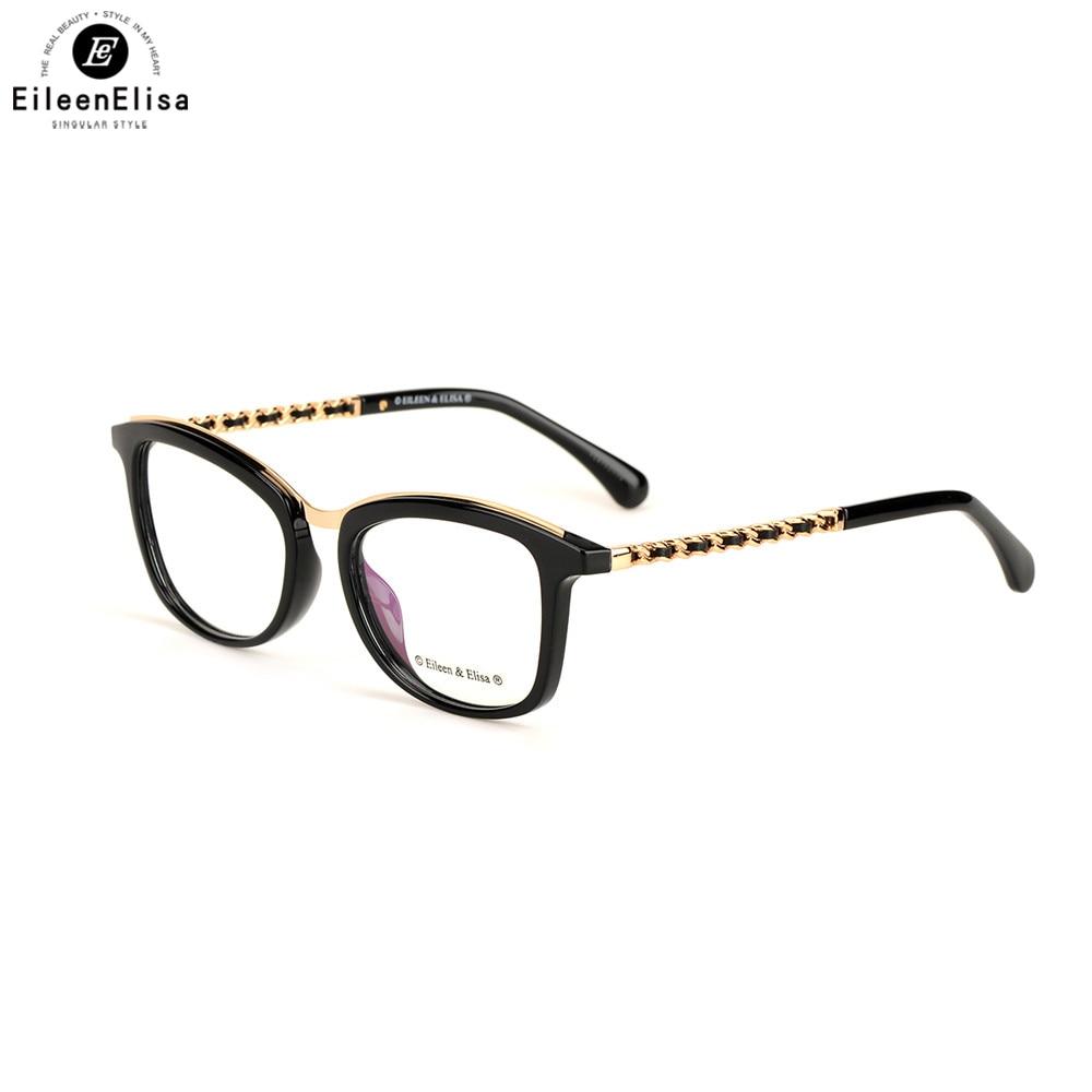 c4 c3 Rahmen Optische Designer Brillen Myopie Frauen c6 Gläser c2 C1 Mode Verschreibungspflichtigen Acetat Marke Ee c5 Klar x1wqZx