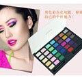 2016 Mais Novo 35 Cores Shimmer matte Eyeshadow Paleta de Cores Terra Eyshadow Mineral Cosméticos Pigmento Maekup Set Kit
