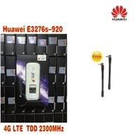 Sbloccato Huawei E3276 4G LTE Modem 150 Mbps WCDMA TDD E3276S-920 Wireless USB Dongle di Rete più 2 pz 4g antenna