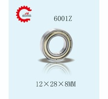 JQ Bearings 10 Pieces Aperture High Quality Deep Groove Ball Bearing 6001 6001Z 12x28x8 Double Shielded With Metal Shields Z/Z 120mm aperture high quality deep groove ball bearing 6024 120x180x28 open ball bearing