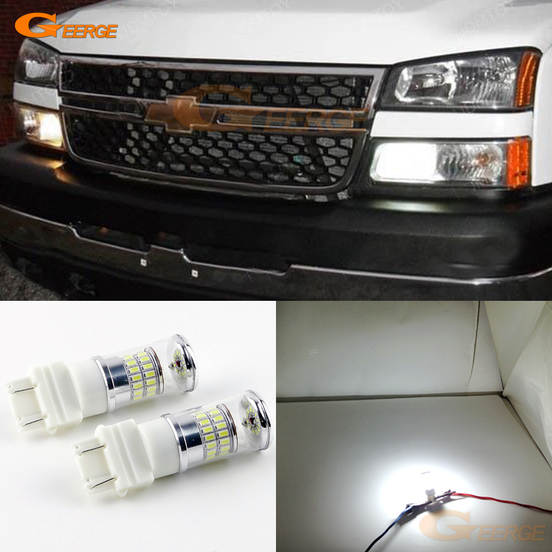 For Chevrolet Avalanche 1500 2500 2006 Daytime Lights Excellent Ultra bright White Reflector 3157 LED Bulbs Daytime DRL Light avalanche аккумулятор в харьков