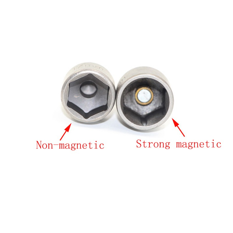 10PCS Professional Magnetic Nut Driver Set Metric Socket 1 4 quot Hex Power Drill Bits 6mm 15mm Hex Socket Sleeve Adapter Power Tool in Wrench from Tools