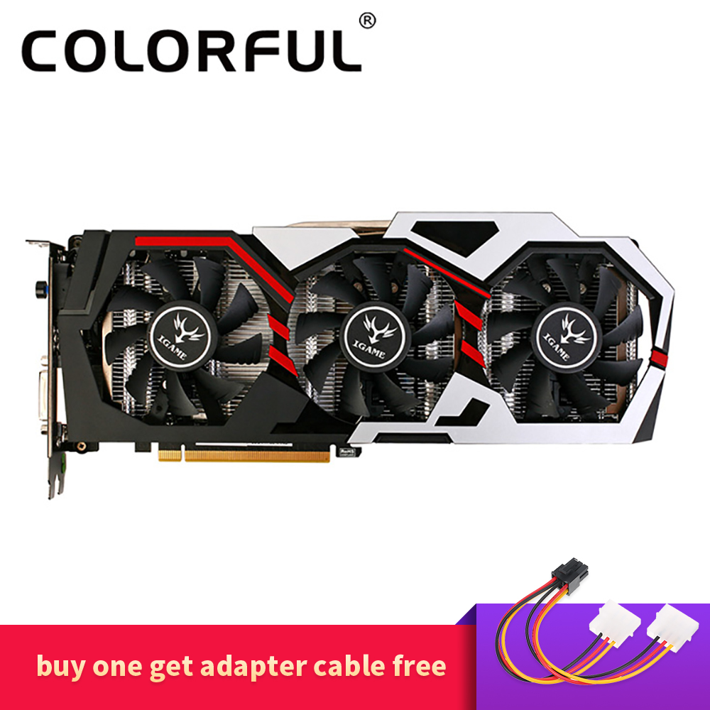 Colorful NVIDIA GeForce GTX iGame 1060 6GB 192bit Gaming