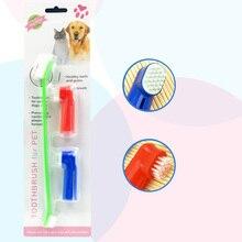 Зубная паста и щетка для питомцев