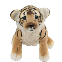 Cute Plush Pillows Stuffed Animals Tiger Toy Lion Kawaii Plush Brinquedo Small Presents Oyuncak Bebek Toys For Children 60G0679(China)
