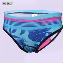 цена на Women's Cycling Underwear Padded Bicycle Mountain MTB Bike Cycling Shorts Riding Sport Breathable Underpants Compression Tights