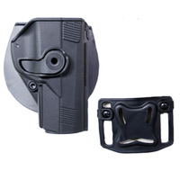 Hot Sell Tactical Airsoft Paintball Right Handed Pistol CQC Style Beretta PX4 Pistol Holster Black