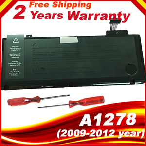 """Image 1 - A1322 batterie Pour APPLE MacBook Pro 13 """"A1278 MC700 MC374 Milieu 2009 2010 2011 2012 année ordinateur portable"""