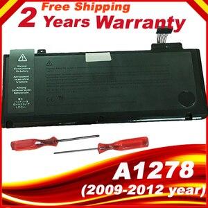 "A1322 battery For APPLE MacBook Pro 13 "" Unibody A1278 MC700 MC374 Mid 2009 2010 2011 2012(China)"