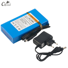 Cncool DC12980 12V 9800MAH Battery High Quality Rechargeable Portable Lithium-ion DC 9800mAh DC1298A With US/EU Plug