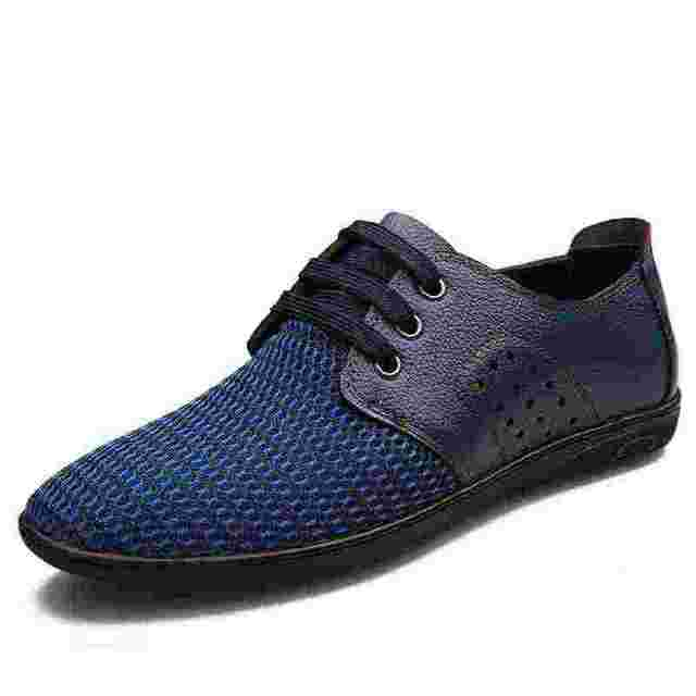 Noopula 2017 Mens Casual Shoes Leather Man Brand Famous For Luxury Loafers Designer Flatmen designer Sneakers Oxford Brands High