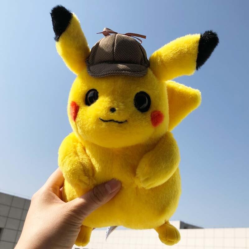 Detective Pikachu Cute Lightning Pokemon Movie Toy Child Ebay