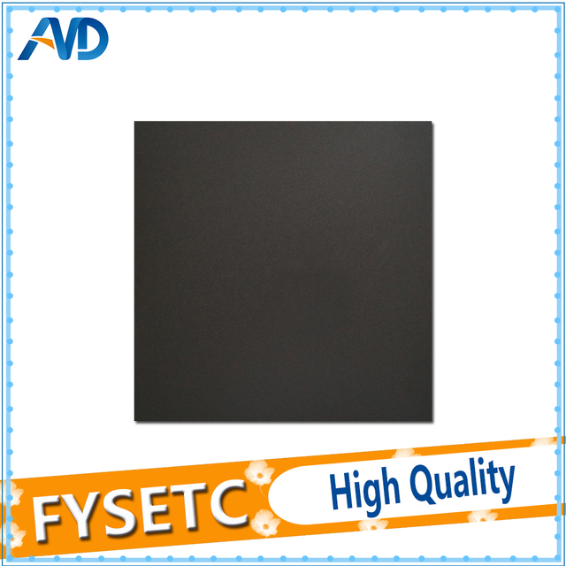 2pc 400x400mm Frosted Heated Bed Sticker Printing Build Sheets Build Plate  Tape Platform Sticker With 3M