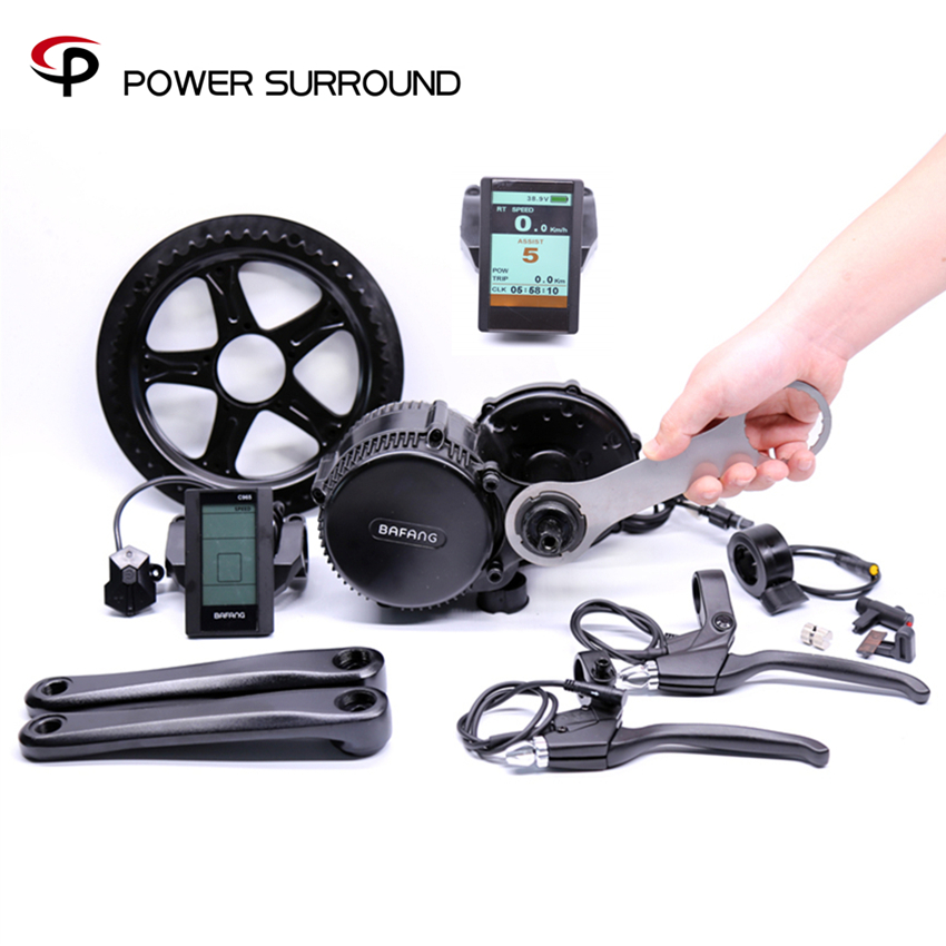 Rushed 2018 New Bafang 36v500w Bbs02 Kit Ebike 8fun/bafang Motor Crank Eletric Bike Kits Electric Conversion 36v500w electric bike center motor system bbs cheapest and best on aliexpress free shipping