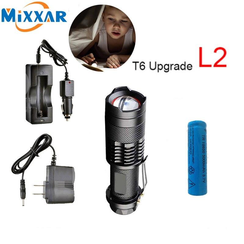 Zk50 7000LM Tragbare LED Lampe Taschenlampe Lanternas Leistungsstarke Wasserdichte Taschenlampen Selbstverteidigung Taktische Militärische Polizei Taschenlampe