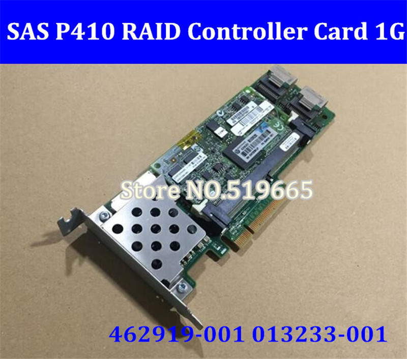 462919-001 013233-001 Array SAS P410 RAID Controller Card 6Gb PCI-E with 1G RAM