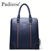 New men 's portable briefcase kraft bag oblique cross men shoulder bag vertical men' s business package
