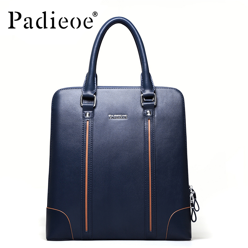New men 's portable briefcase kraft bag oblique cross men shoulder bag vertical men' s business package hl062 2 new men s 100