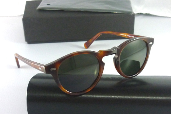 fc182577d97 oliver peoples sunglasses Gregory Peck 5186 tortoise men and women sun  glasses