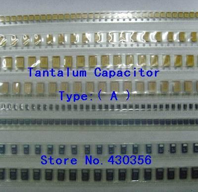 10PCS  Tantalum Capacitor  Type:A    105  1UF  16V