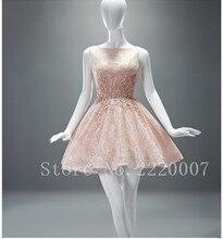 Ziemlich Scalloped Short Abendkleid Short Mini Chiffon-Billig Kurzen Abendkleid Kristall Ballkleid Backless Cocktailkleid