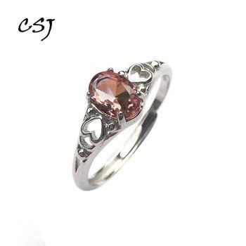 3ebb609e8569 Las congregaciones oval 6 8mm Zultanite cambiar de color anillo de Plata de  Ley 925 creado Zultanite bien de mamá o señora el uso diario de caja de  regalo