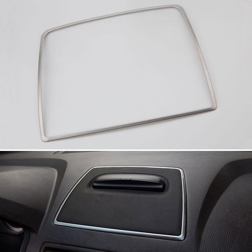 Нержавеющая сталь Передняя панель центральный громкий музыкальный динамик рамка отделка для Volvo XC90