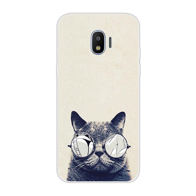Cat print phone case