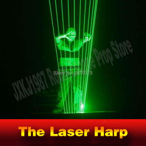 Takagism Game prop laser harp for room escape game puzzle clues device Play the right rhythm to unlock and get away chamber room(China)