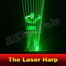 Takagism Gioco Prop Laser Arpa per Camera di Fuga Dispositivo di Gioco di Puzzle di Indizi Giocare Il Giusto Ritmo per Sbloccare E Ottenere di Distanza Camera Camera