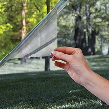 3m One Way Perspective Solar Mirrored Film Heat Control Privacy Window Glass Sticker Tint Anti-UV Home Office Bedroom Decor