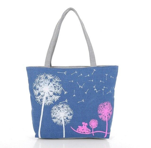 Dandelion Canvas Bag...