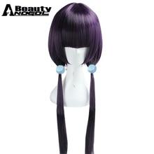 ANOGOL BEAUTY Hair Cap Blend S Sakuranomiya Cosplay Wig Long Straight Wigs  With Bangs c8bf37896aa0