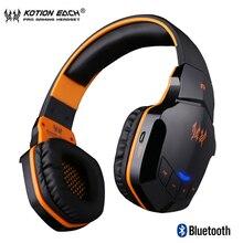سماعات أذن B3505 لاسلكية مزودة بتقنية البلوتوث 4. 1 ستيريو للألعاب سماعات رأس مع ميكروفون خوذة موسيقى HiFi لألعاب iphone