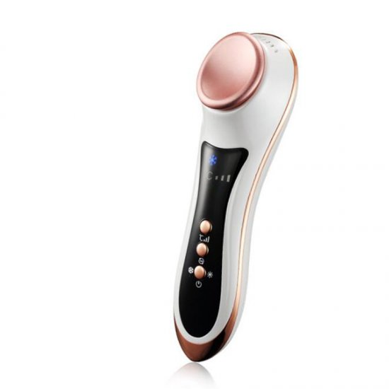 New Rechargeable Electric Eye Massager Hot Cold Eye Care Machine Vibration Massage Device Remove Wrinkle Eye Brightener free shipping new air pressure eye massager with mp3 6 functions dispel eye bags eye magnetic far infrared heating eye care