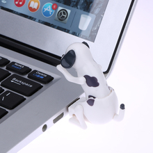 White Mini Dog Funny USB