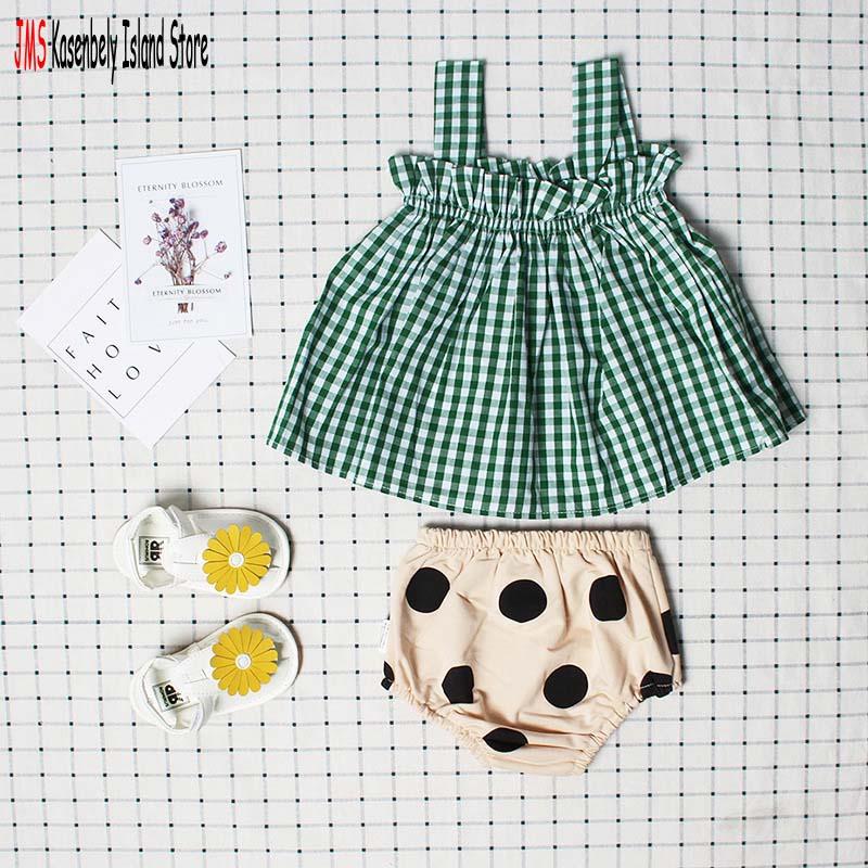 JMS Kasenbely Summer Girl Vintage Swing top y volantes Bloomers Parte - Ropa de bebé - foto 1