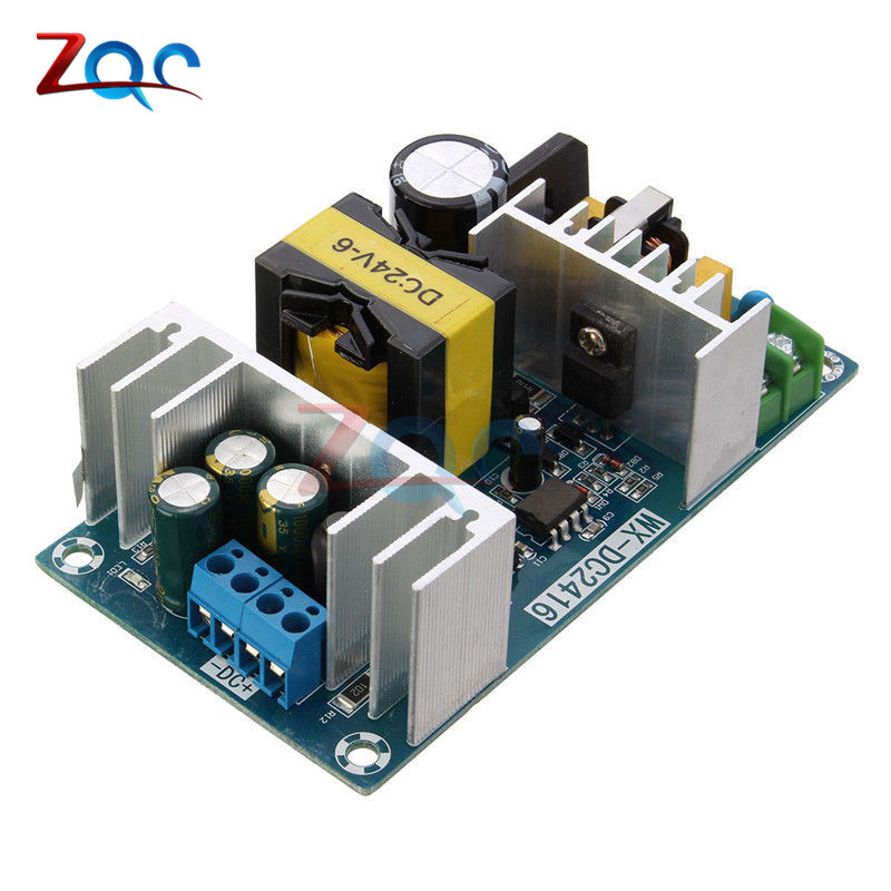 AC-DC Switch Power Supply Module AC 100-240V To DC 24V Max 9A 150w AC DC Switching Power Supply Board 24V AC DC Adapter