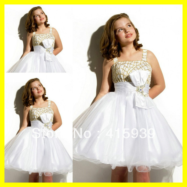 Flower Dresses For Wedding Party Little S Blue And White Holiday Cutest Sleeveless Bow A