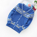 2016 new boys cardigans new fashion knit cardigan 4-14 years children's cotton sweater 6505