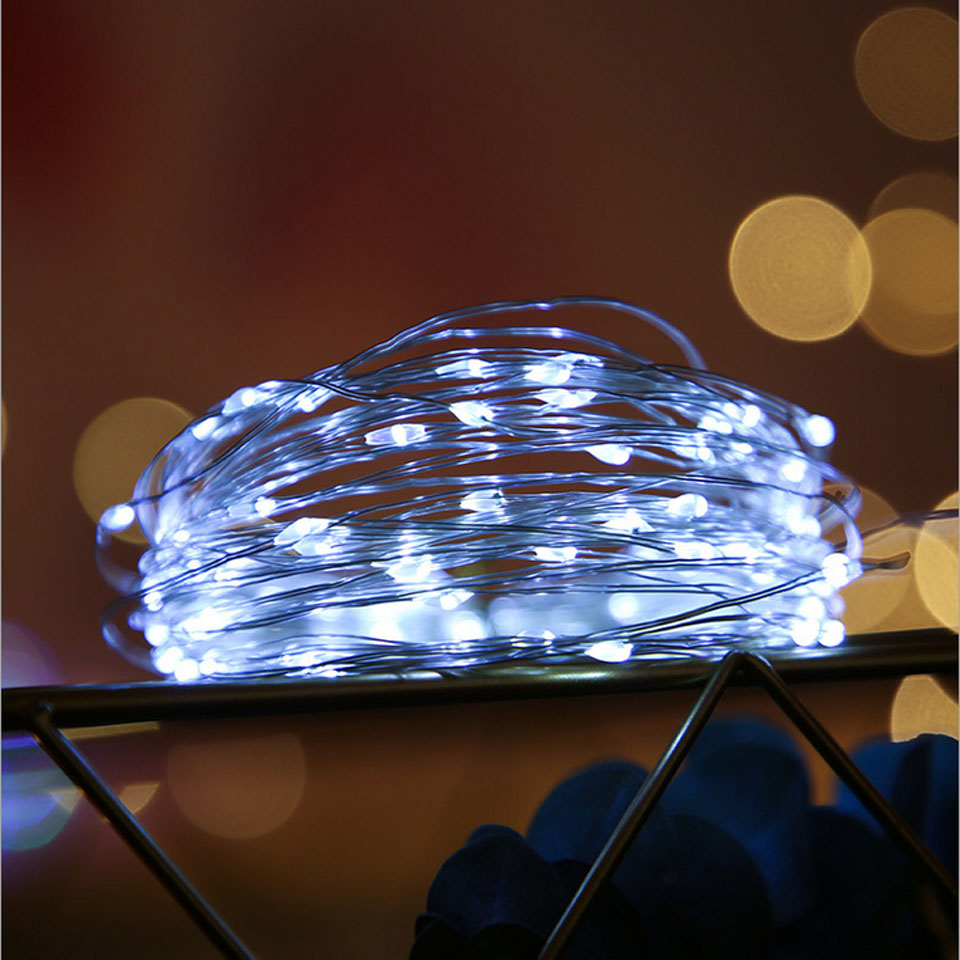 Kitchen LED Light Cooper Wire String Lights Battery/USB Powered Fairy Lights Girlanda Holiday Christmas Xmas Wedding Decoration