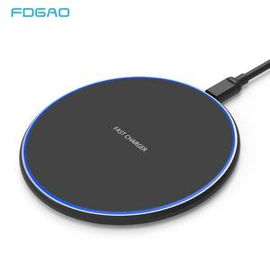 15W QI Quick Charging Wireless Fast Charger Usb Tpye C 10W QC 3.0 Charge For iPhone 11 Pro XS XR X 8 Samsung S10 S9 Xiaomi mi 9