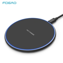 15W QI Quick Charging Wireless Fast Charger Usb Tpye C 10W QC 3.0 For iPhone XS XR X 8 Samsung S10 S9 Xiaomi mi 9 Huawei P30 Pro