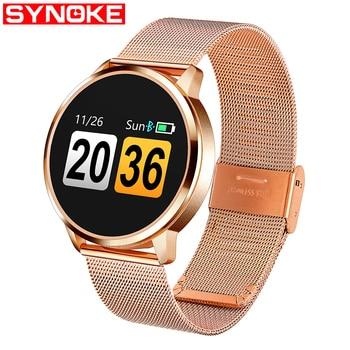 SYNOKE Couple Smart Watch Women Men Android Waterproof Watches Digital Watch Men Women's Wristwatch Men's Watches Couple Gift