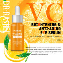 DRRASHEL Vitamin C Eye Serum Hyaluronic Acid Essence Brightening Anti Wrinkle Aging 30 ml