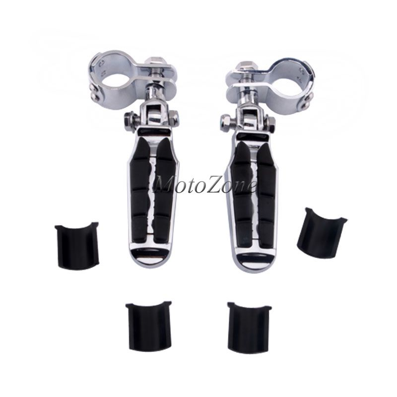 1-1/4 1.25 Motorcycle Highway Crash Bar Foot pegs Rest Clamps Engine Guard Mounts Kit Suit For Harley Touring Suzuki ATV1-1/4 1.25 Motorcycle Highway Crash Bar Foot pegs Rest Clamps Engine Guard Mounts Kit Suit For Harley Touring Suzuki ATV