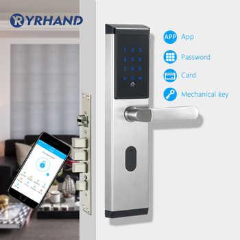 TTlock app WiFi Digital Electronic Smart Door Lock , Smart Home  Intelligent Bluetooth keypad Password Door Lock - DISCOUNT ITEM  55% OFF All Category