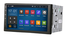universal Quad core Android 4.4.4  ISO cable 1024*600 car GPS player 2DIN  7inch radio built-in MIC Touch Screen free map NO DVD