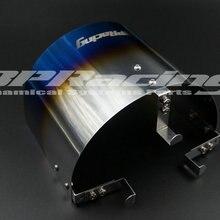 """Универсальный титановый воздушный фильтр тепловой защиты для 2,2"""" до 3,5"""" дюймовый конусный фильтр"""